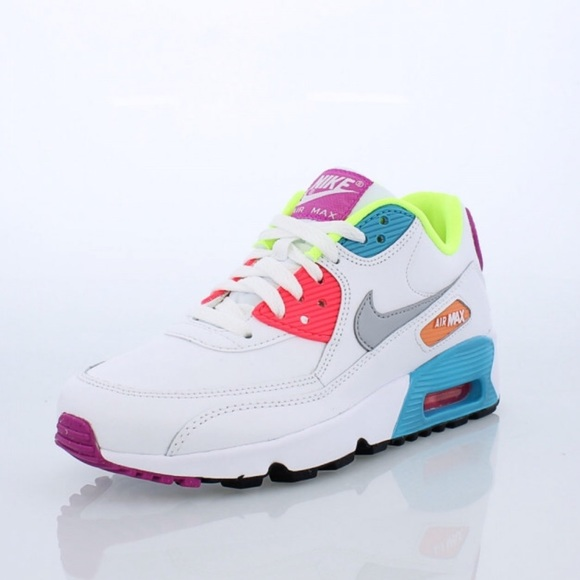 outlet store 7def8 1e2b6 Nike Air Max 90 SE Leather Big Kids  Shoe